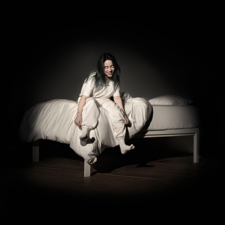 BILLIE EILISH - When We Fall Asleep, Where Do We Go LP Orange Vinyl