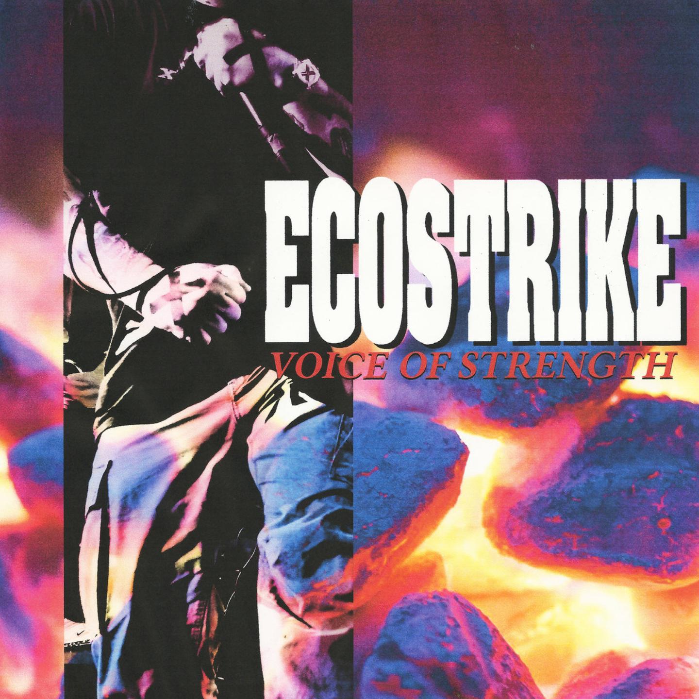 ECOSTRIKE - Voice Of Strength LP (Maroon Vinyl)