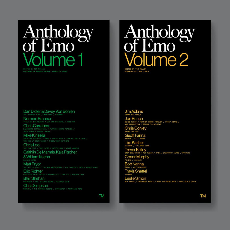 ANTHOLOGY OF EMO VOLUME 1 & 2 Book Bundle