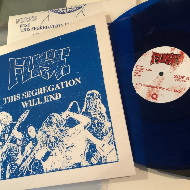 FUSE - This Segregation Will End LP Blue Vinyl
