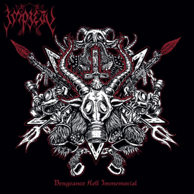 IMPIETY -  Vengeance Hell Immemorial LP