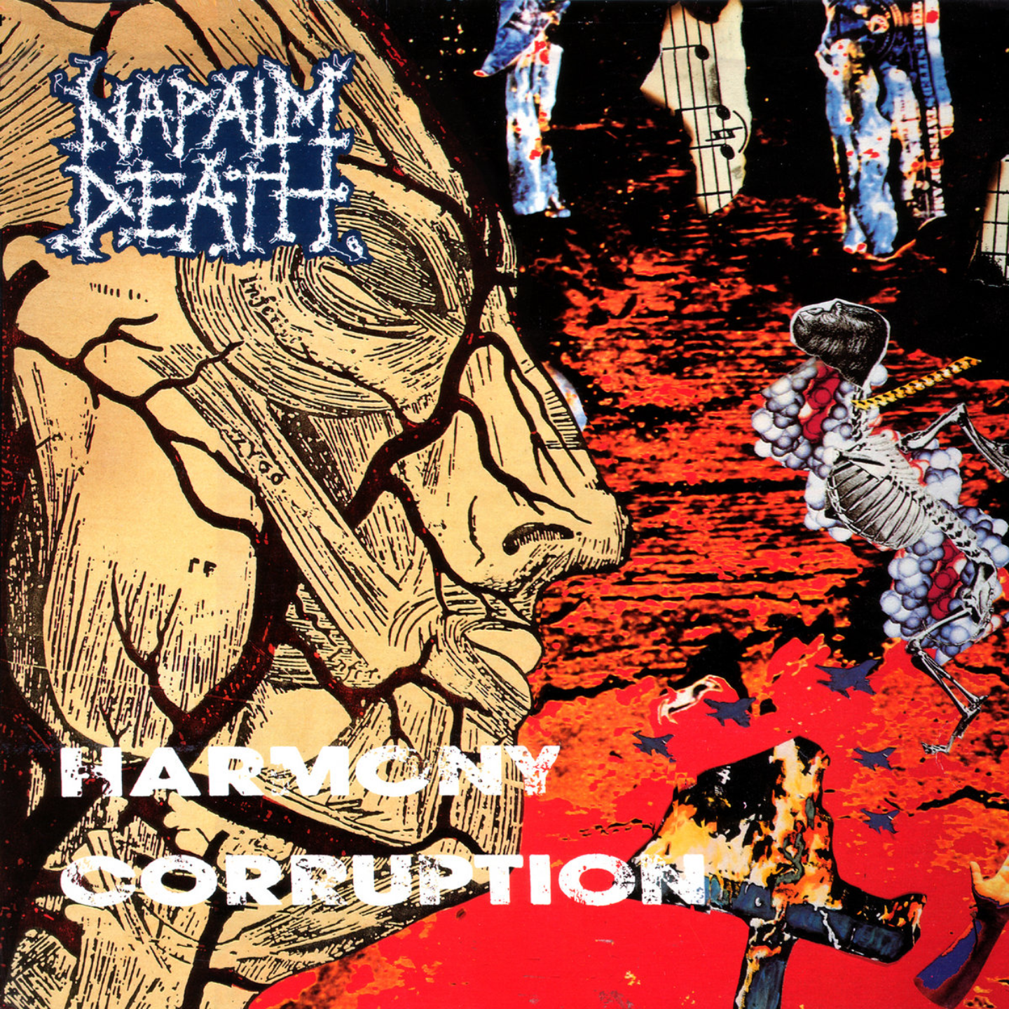 NAPALM DEATH - Harmony Corruption LP
