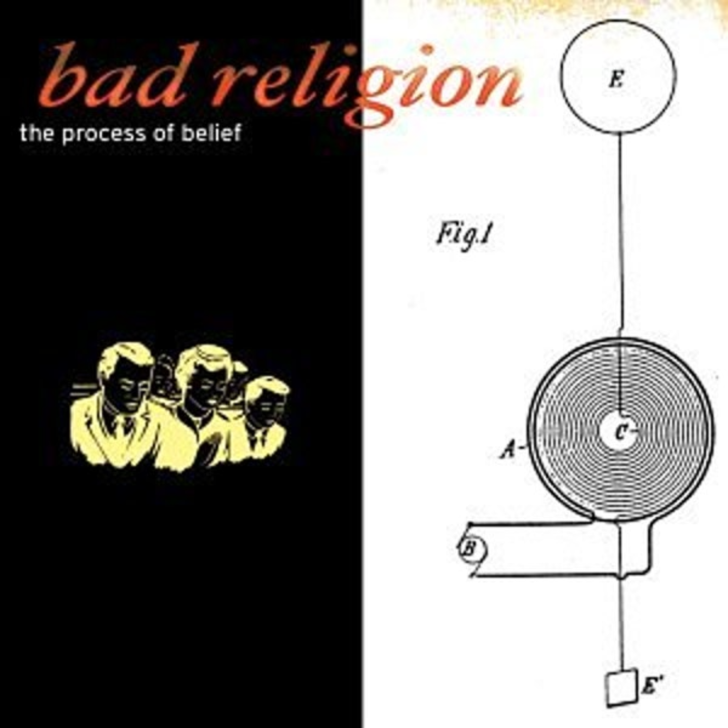 BAD RELIGION - The Process Of Belief LP