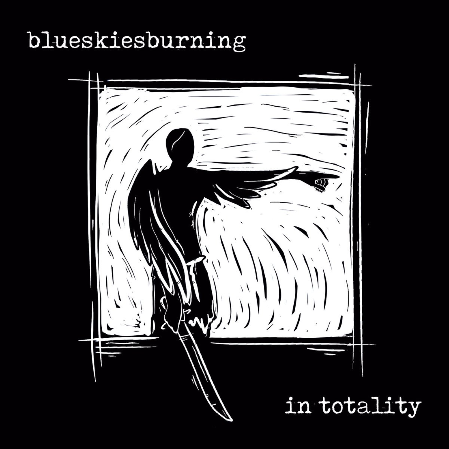 BLUE SKIES BURNING - In Totality LP Blue Vinyl