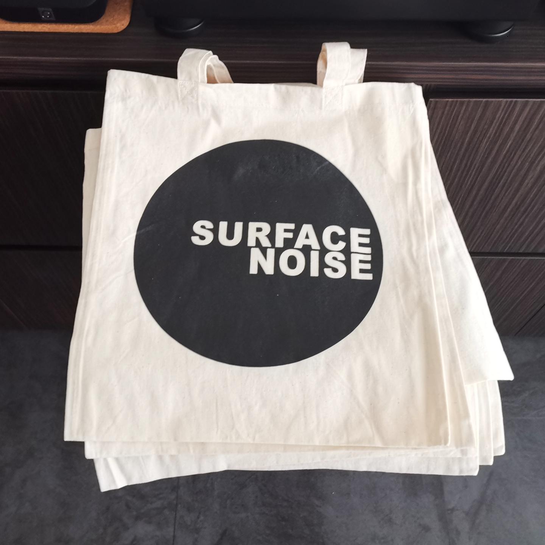 SN Logo Tote Bag White