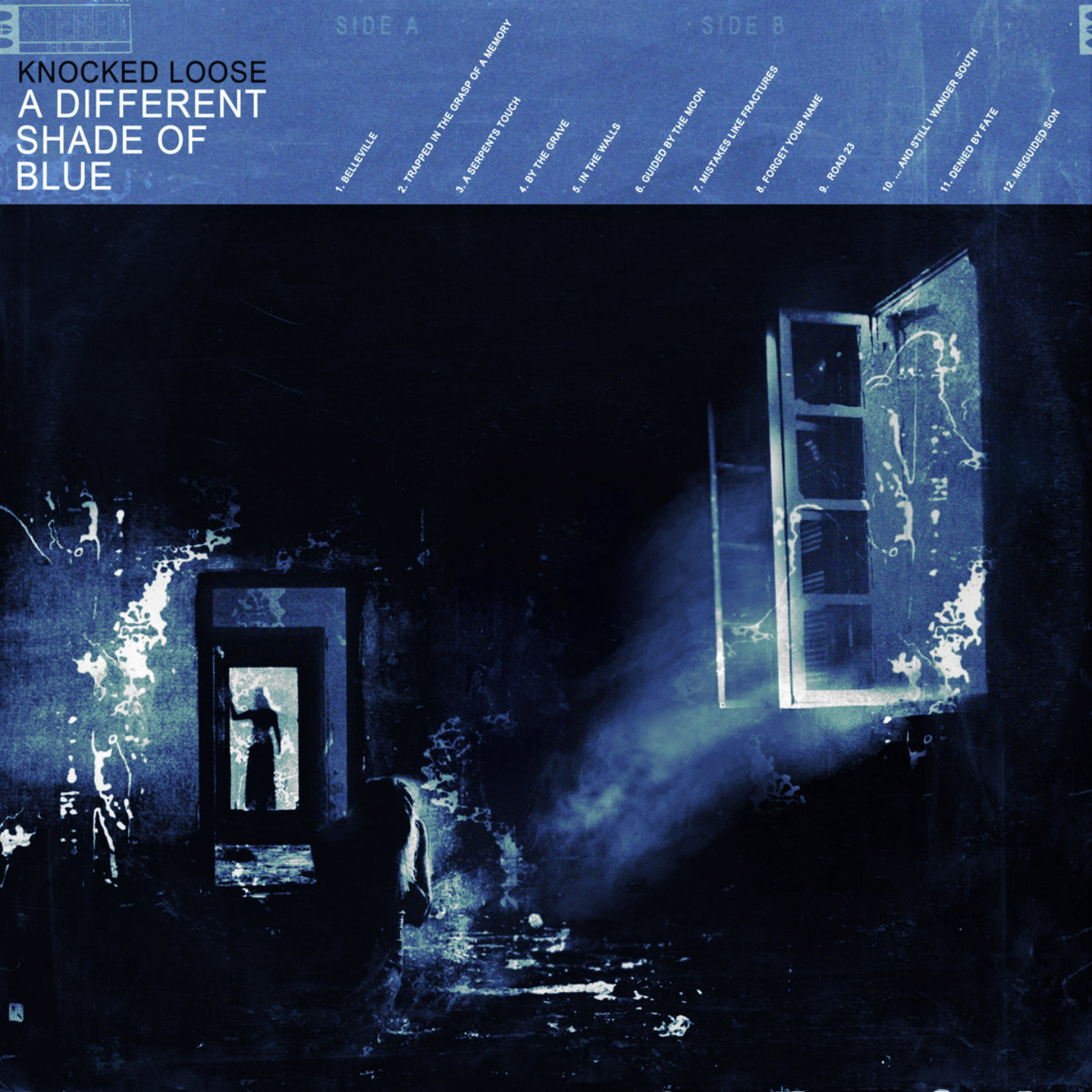 KNOCKED LOOSE - A Different Shade Of Blue LP (Coloured Vinyl)