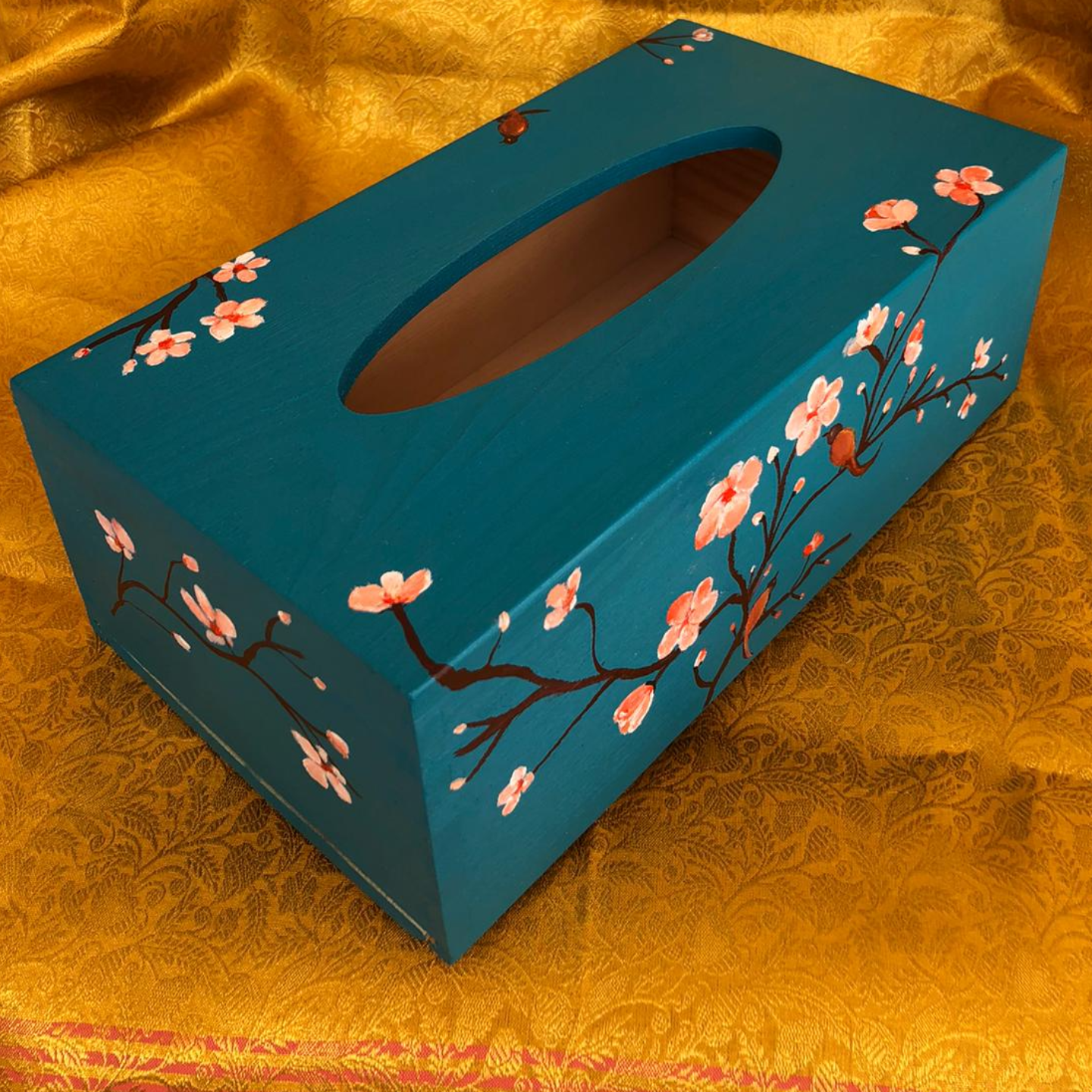 Tissue box - Teal