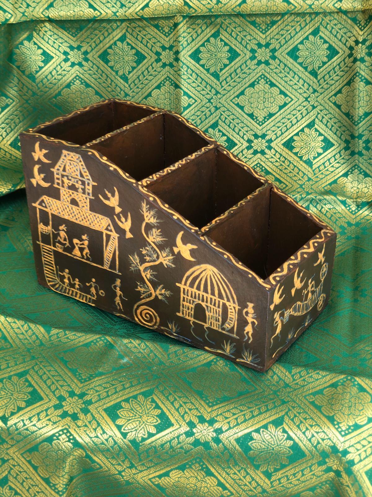 Cutlery Box  - wooden