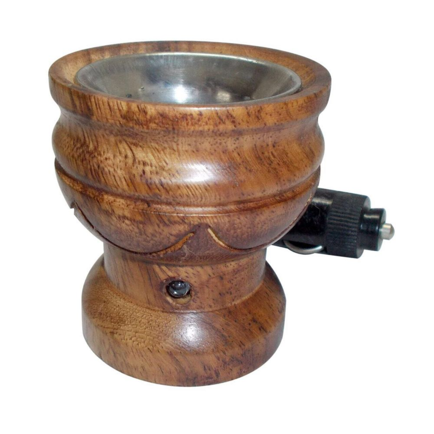 OUD WOOD CAR DC PIN PLUG-in INCENSE BURNER  DIFFUSER SUITABLE FOR OUDBAKHOORLOBAN