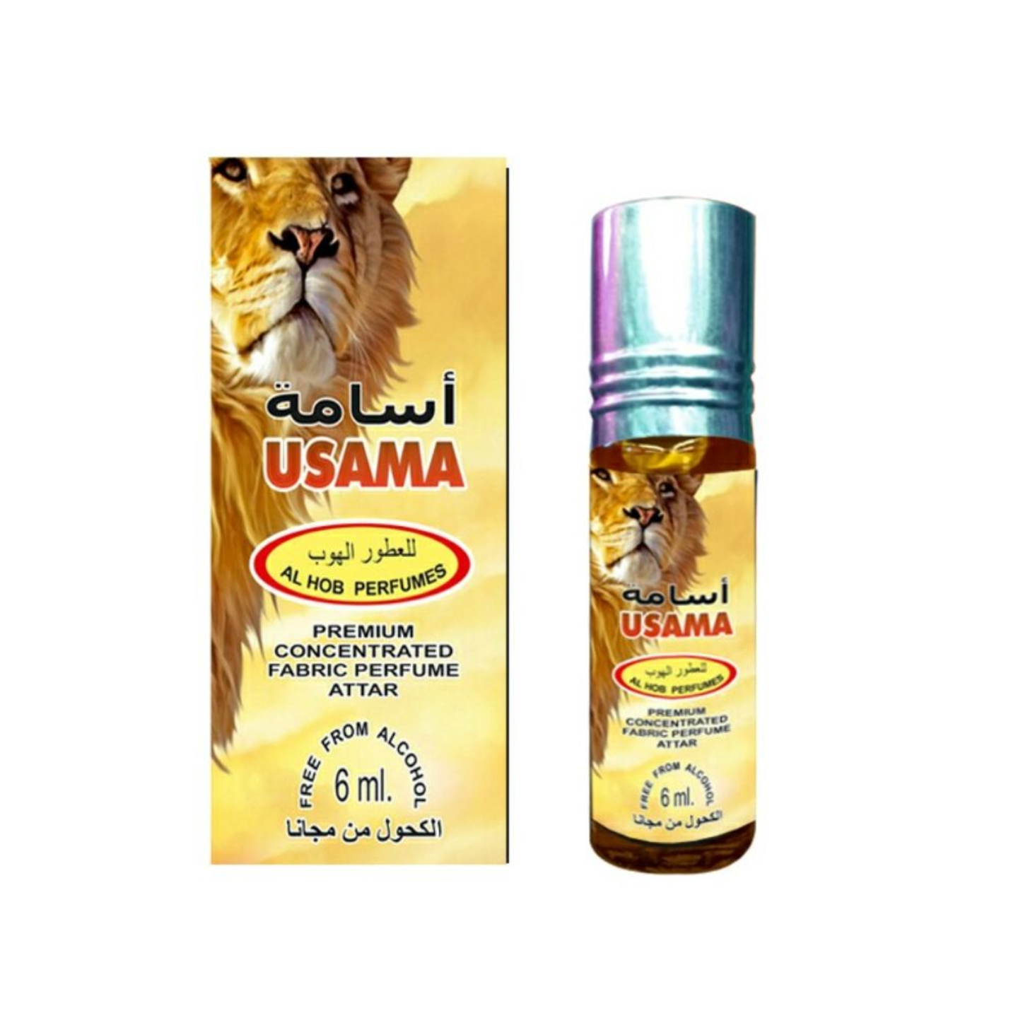 USAMA ATTAR BY AL HOB PERFUMES