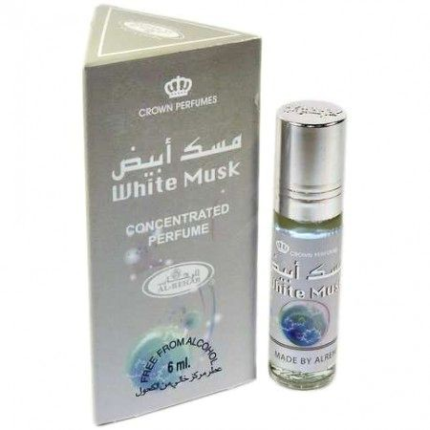 WHITE MUSK ATTAR BY AL REHAB