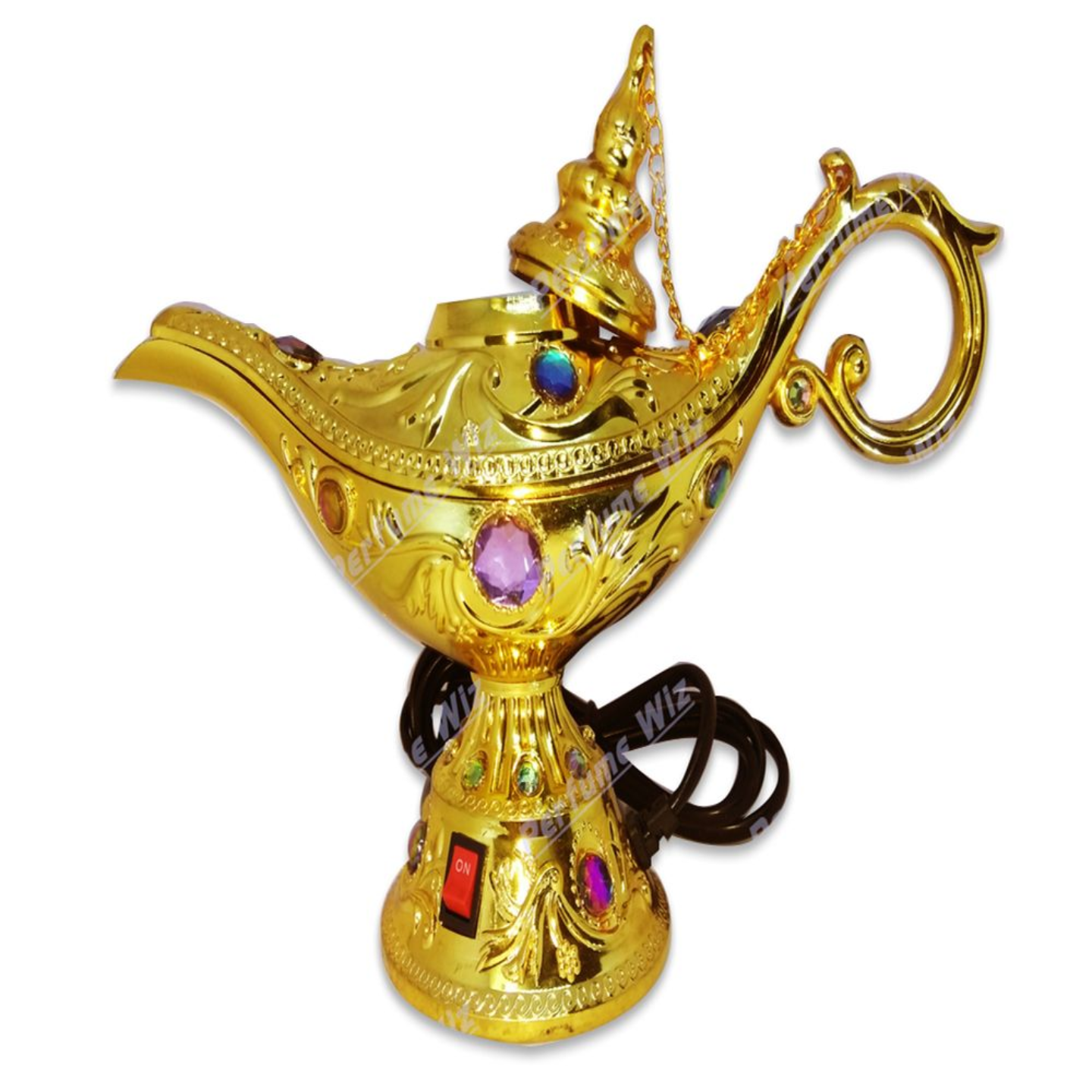 MAGIC LAMP OUD WOOD ELECTRIC INCENSE BURNER  DIFFUSER SUITABLE FOR OUDBAKHOORLOBAN
