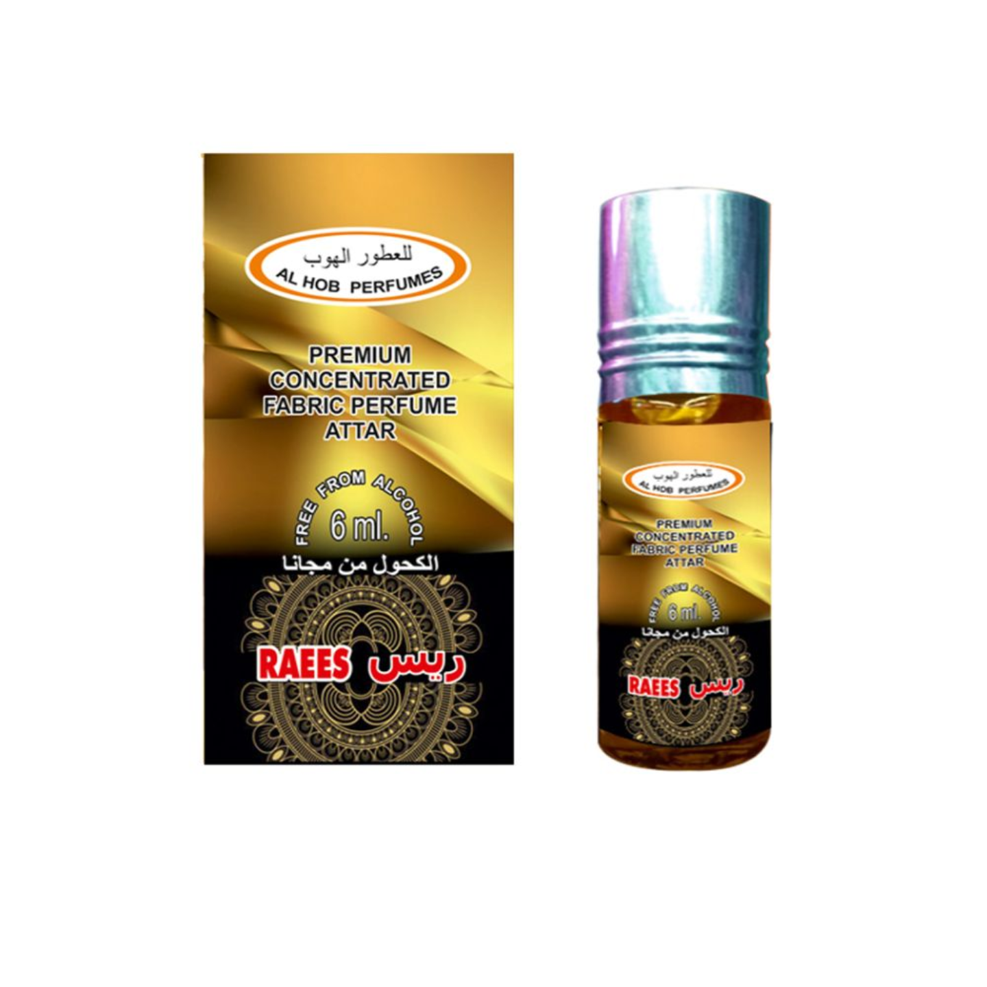 RAEES ATTAR BY AL HOB PERFUMES