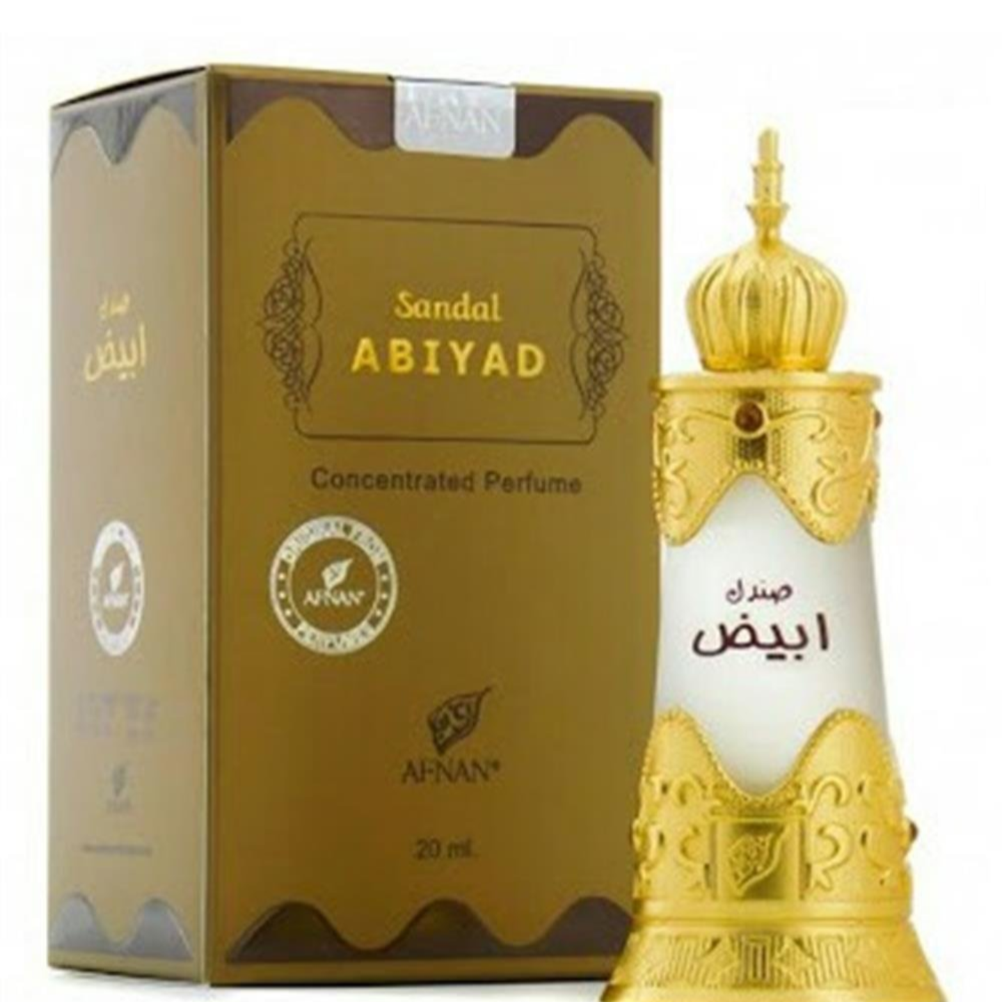 SANDAL ABIYAD ATTAR BY AFNAN