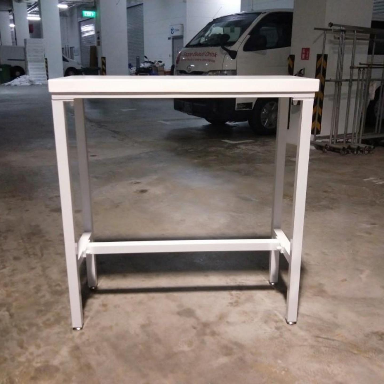 REXIN Modern Minimalist Bar Table in WHITE