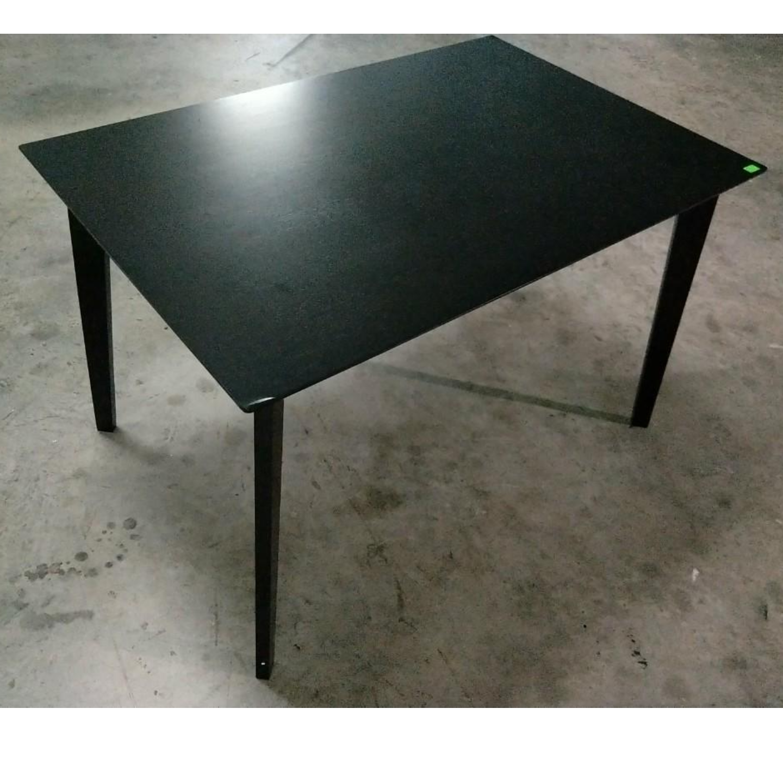 TITAN Dining Table in Dark Cappucino