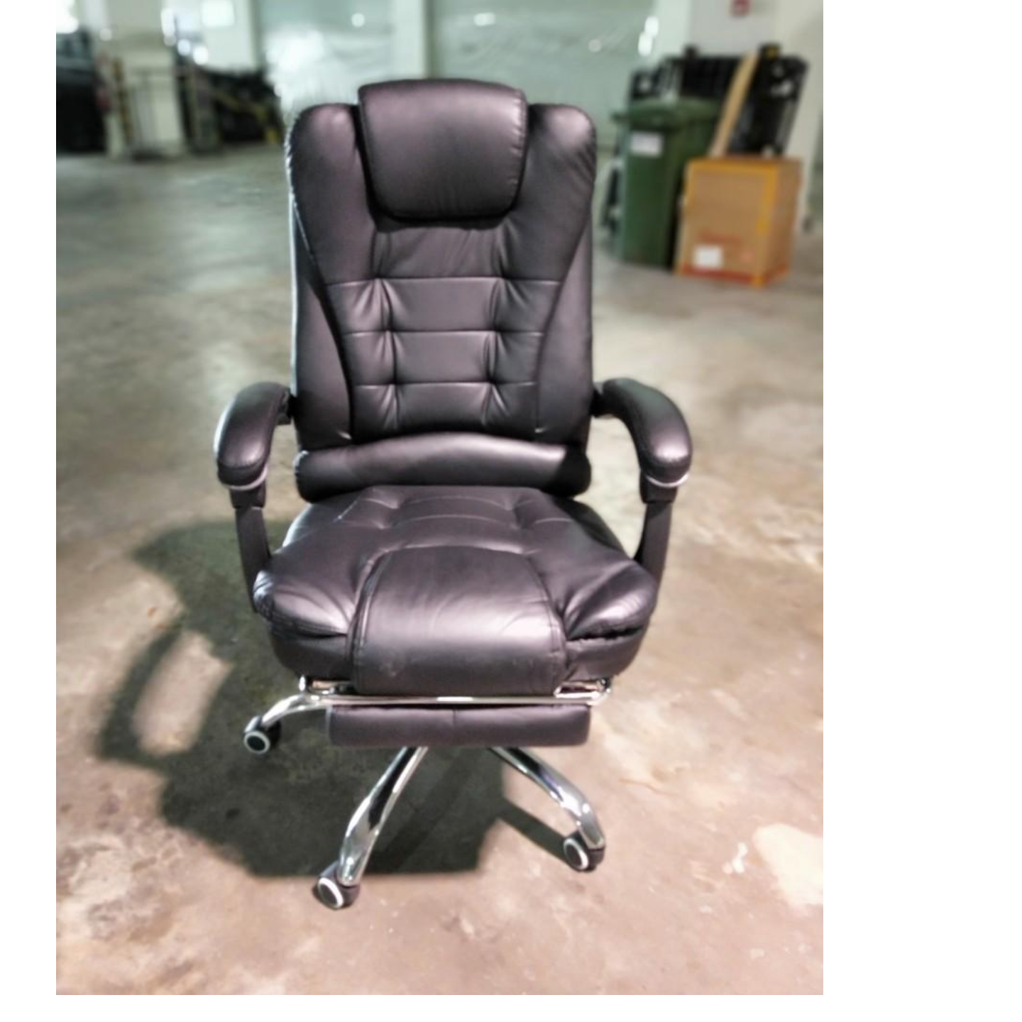 VARDOMO Office Chair in BLACK PU