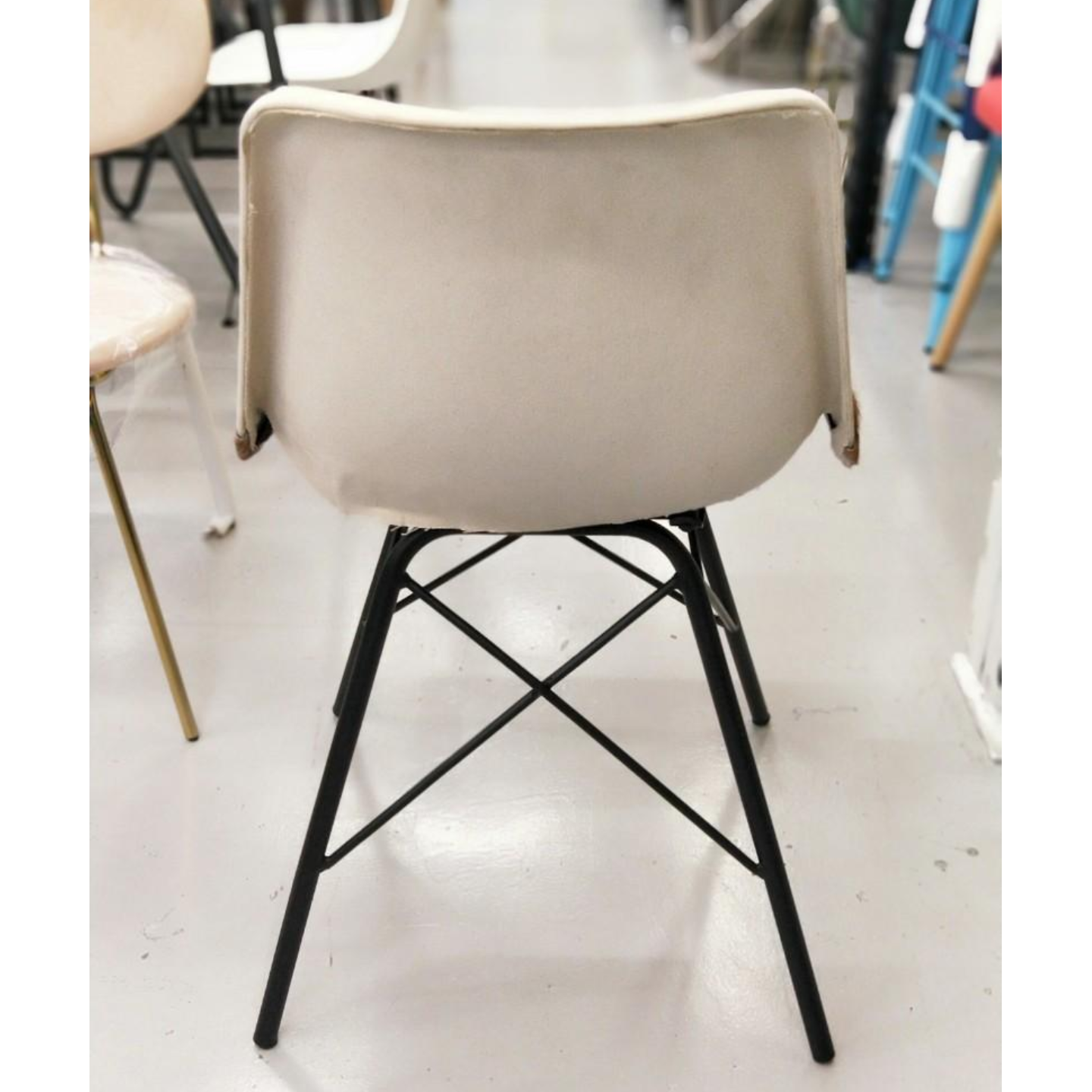 NUER Leather Chair