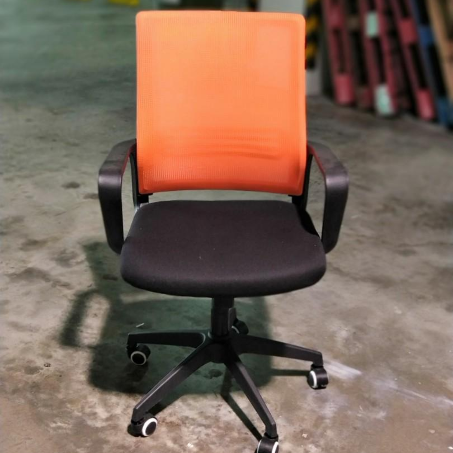 RIKA Office Chair in ORANGE