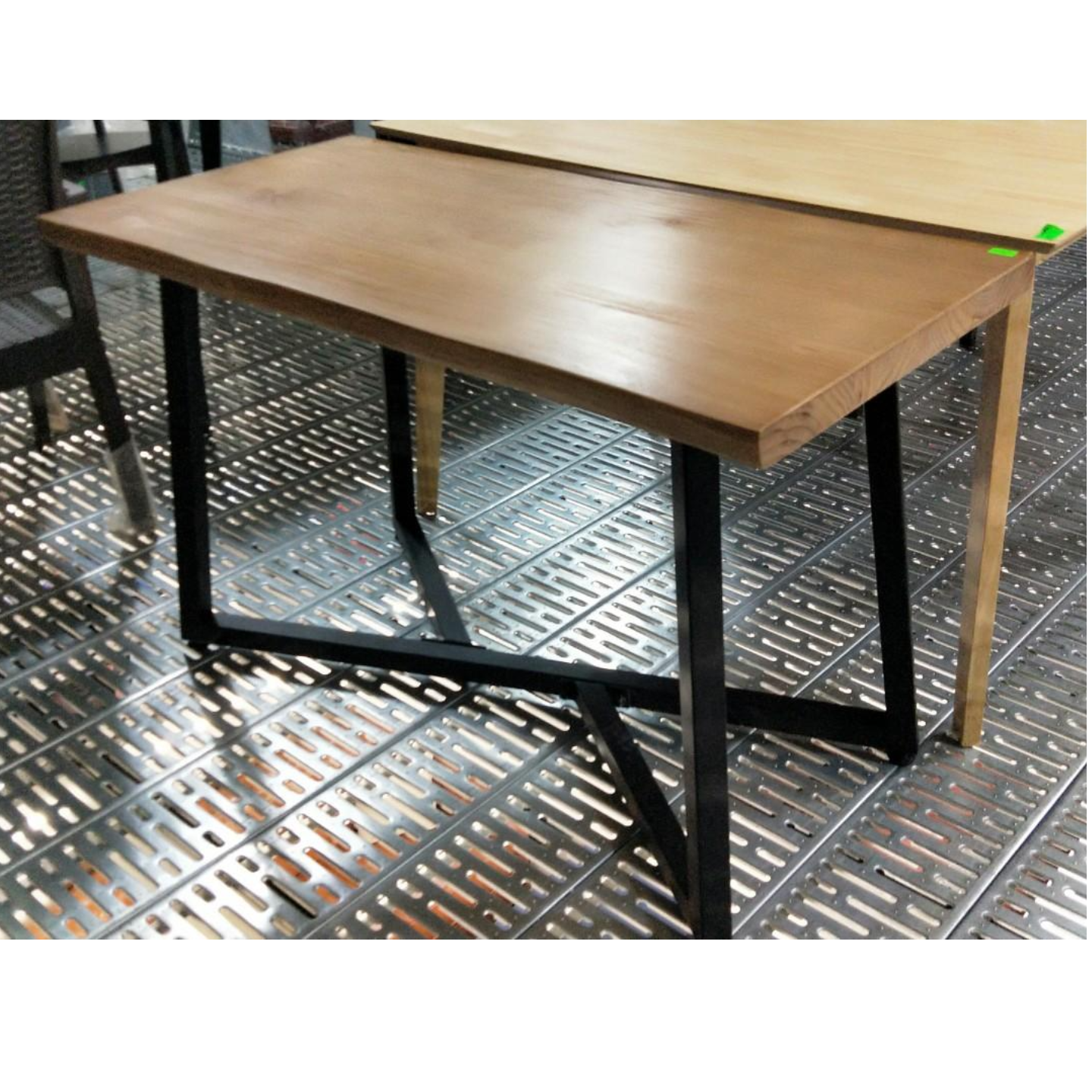 DAEWOO Contemporary Industri Series Pine Wood Dining/ Office Table