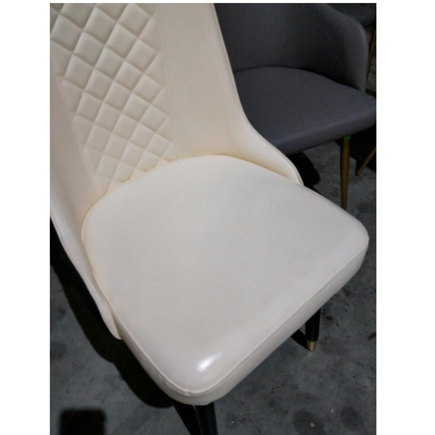 4 x LIVERA Modern Faux Leather Dining Chair