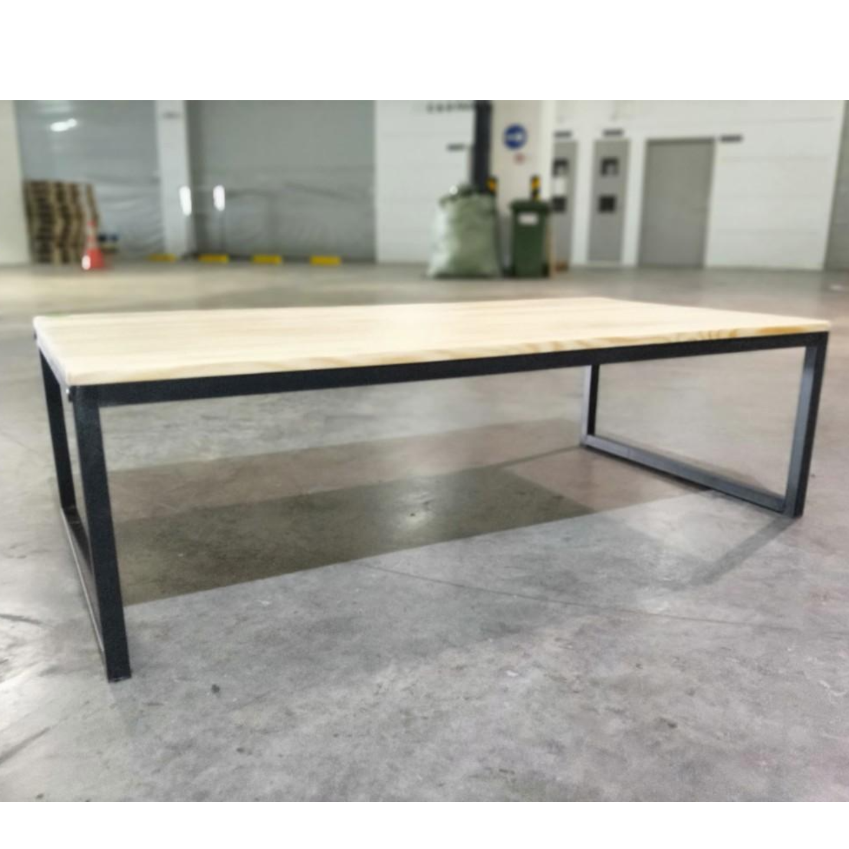LOFIE Rustic Solid Wood Coffee Table