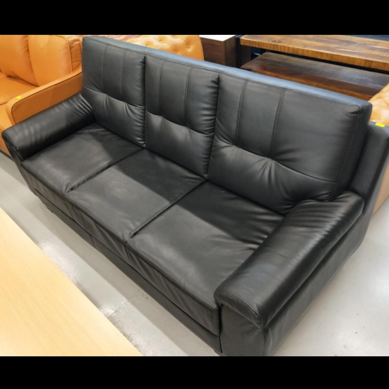 VIDA 3 Seater Sofa in BLACK