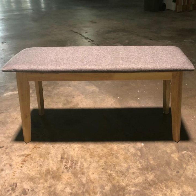 TITAN Bench in GREY Fabric