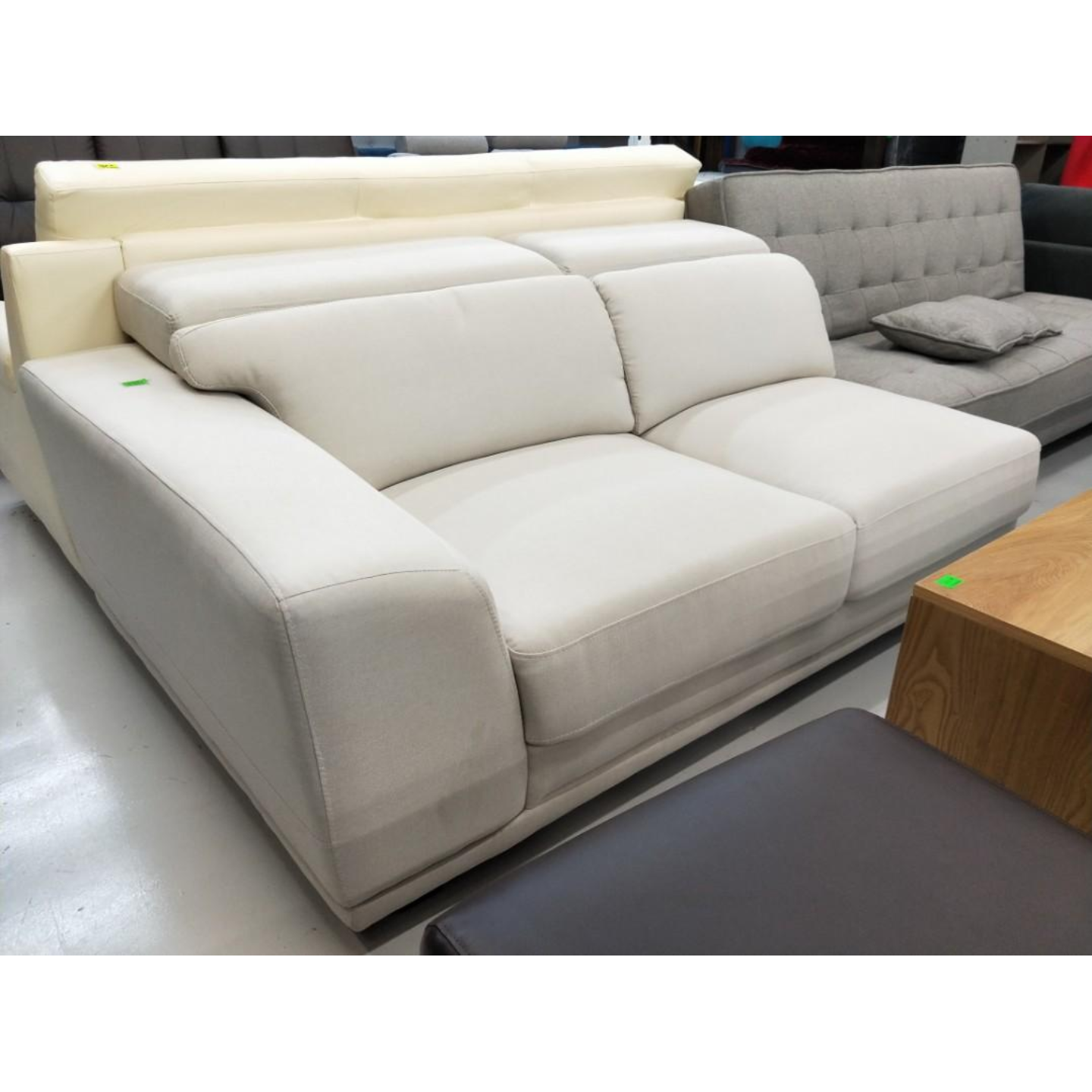 BOSJKA Corner Sofa in LIGHT BEIGE