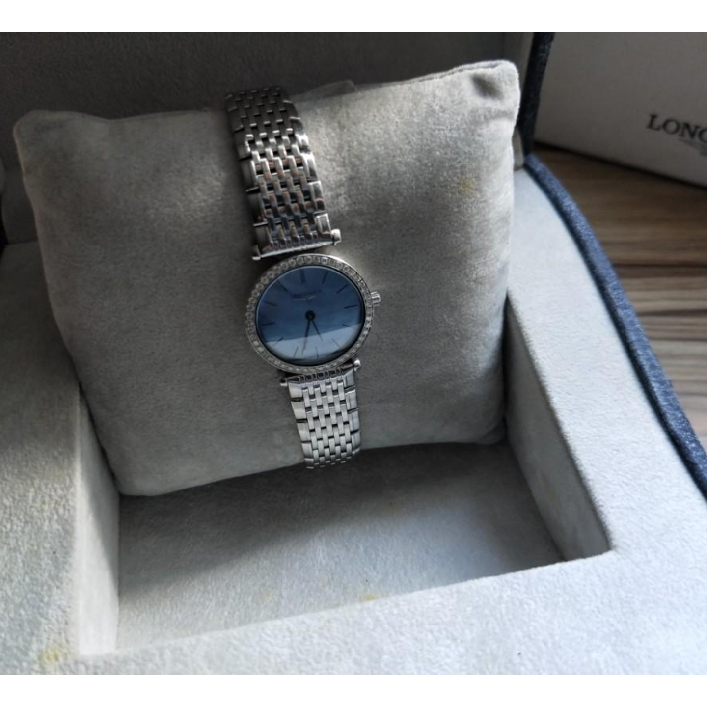 LONGINES Le Grant Classique Mother of Pearl Diamond Watch