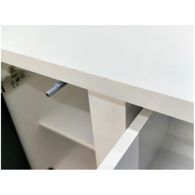 VALDAMIR Shoe Cabinet in BLACK & WHITE