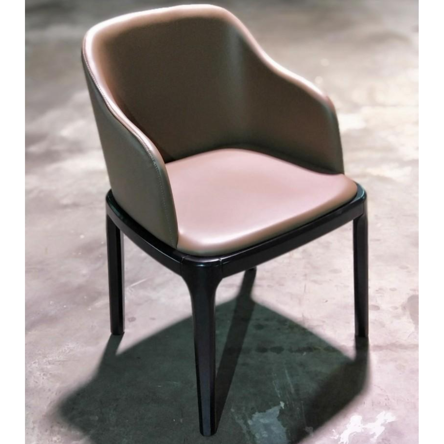 NIKSEN PU Leather Chair