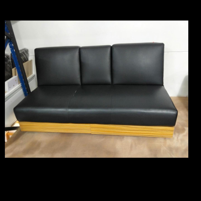 ARAI Storage Sofa Bed in BLACK