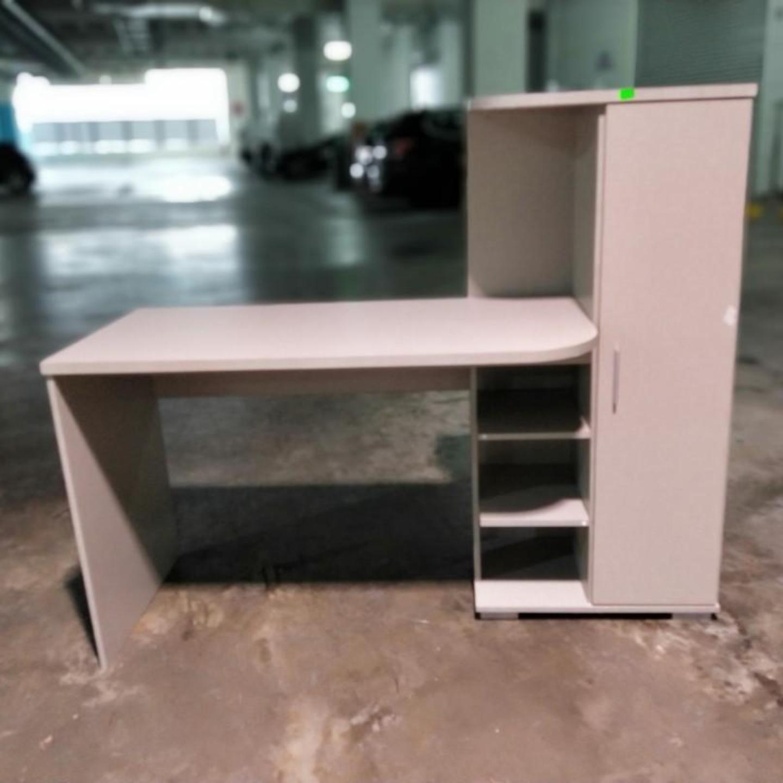 BITRIZ Study Desk with Storage
