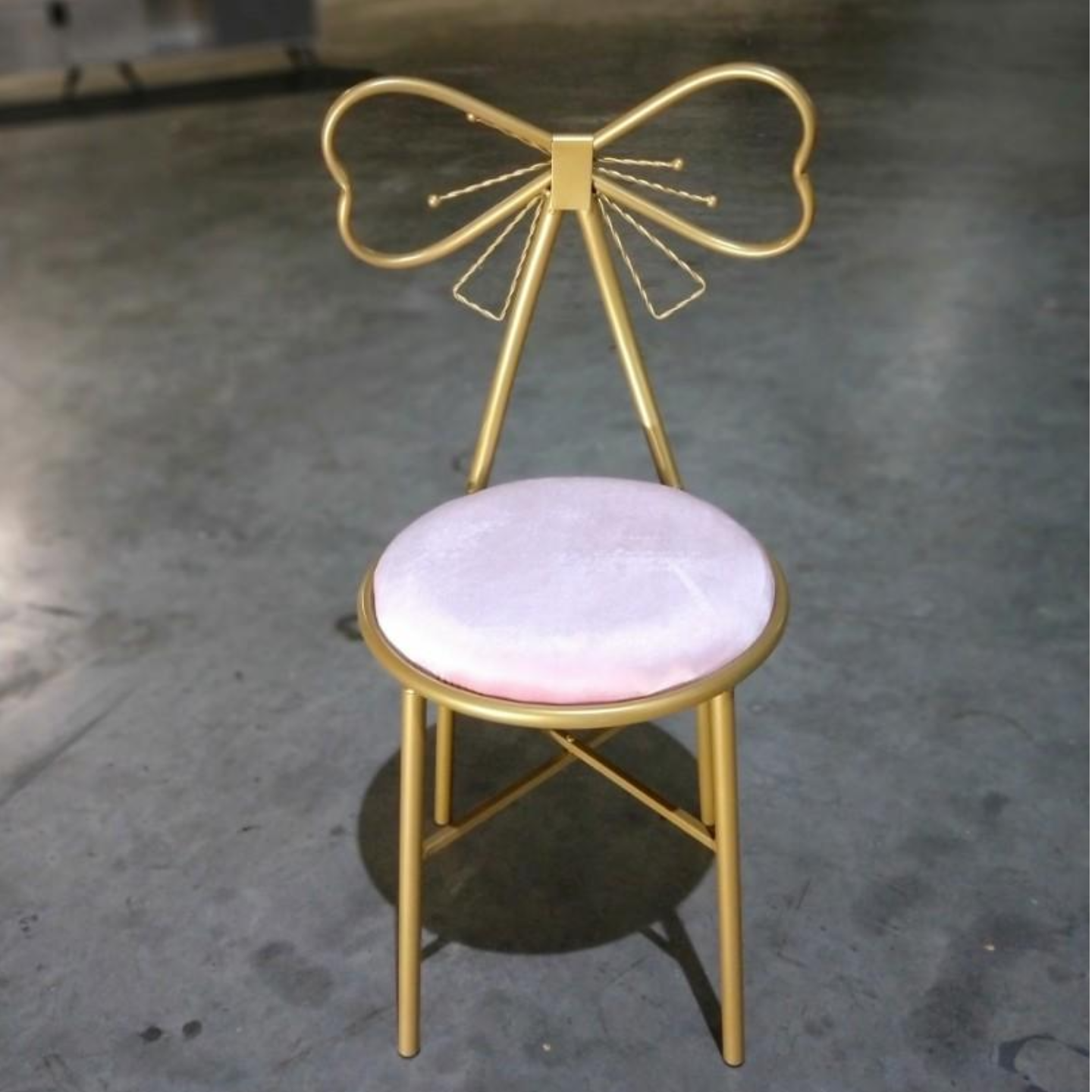 FLYZ Designer Chair in GOLD Frame