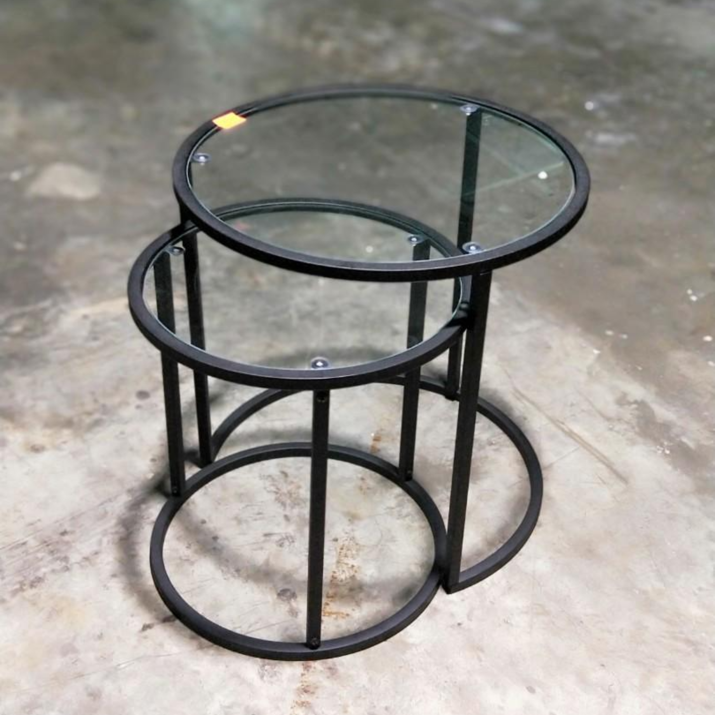 CAFINI 2pc Nesting Table