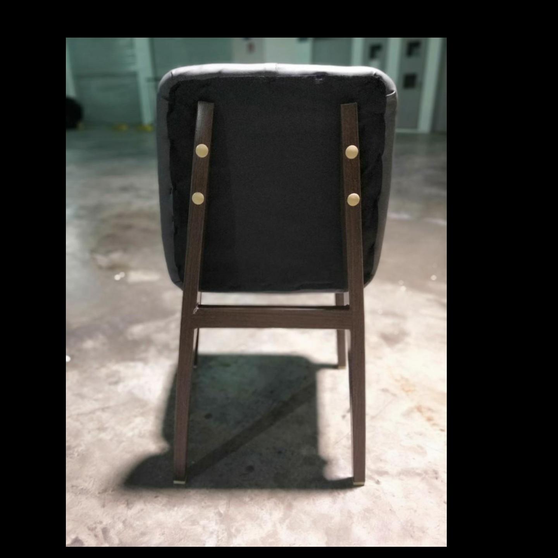 ZETA Dining Chair Black PU