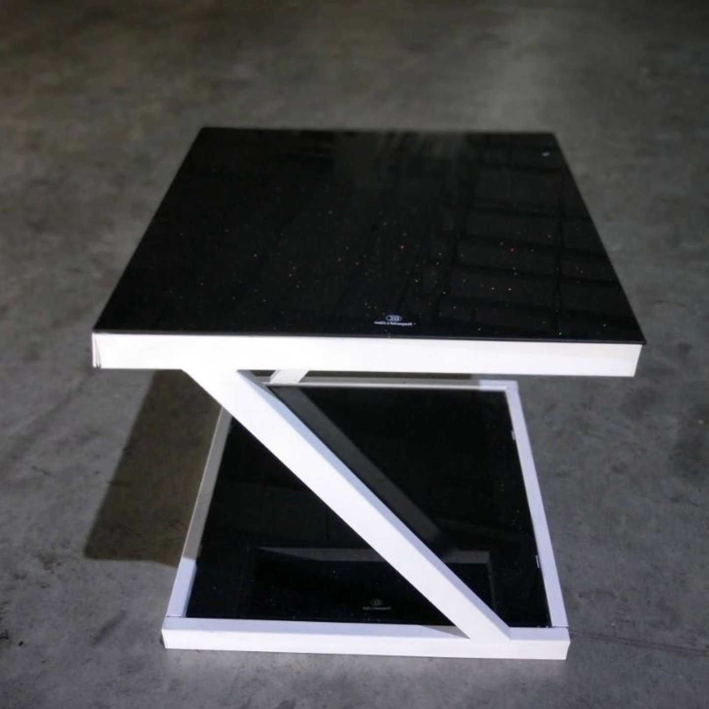 RENZO Galaxy Z Tempered Glass Side Table