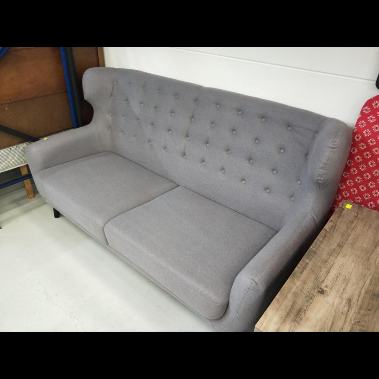 SCAN X-WINGBACK Designer 3 Seater Sofa in GREY