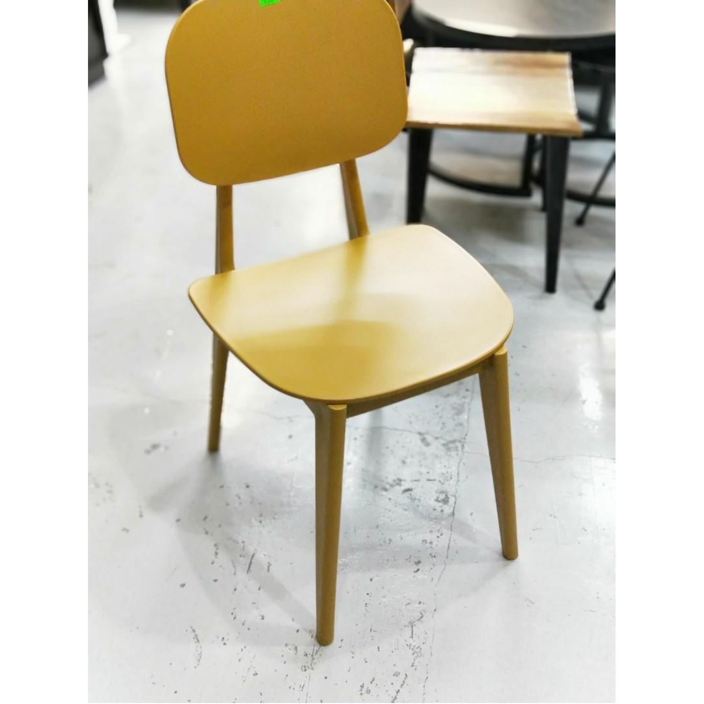 JERLIA Dining Chair in MUSTARD Yellow