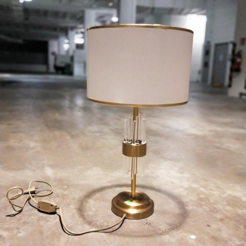 KRYPTON LED Glass Strip Bedside Lamp