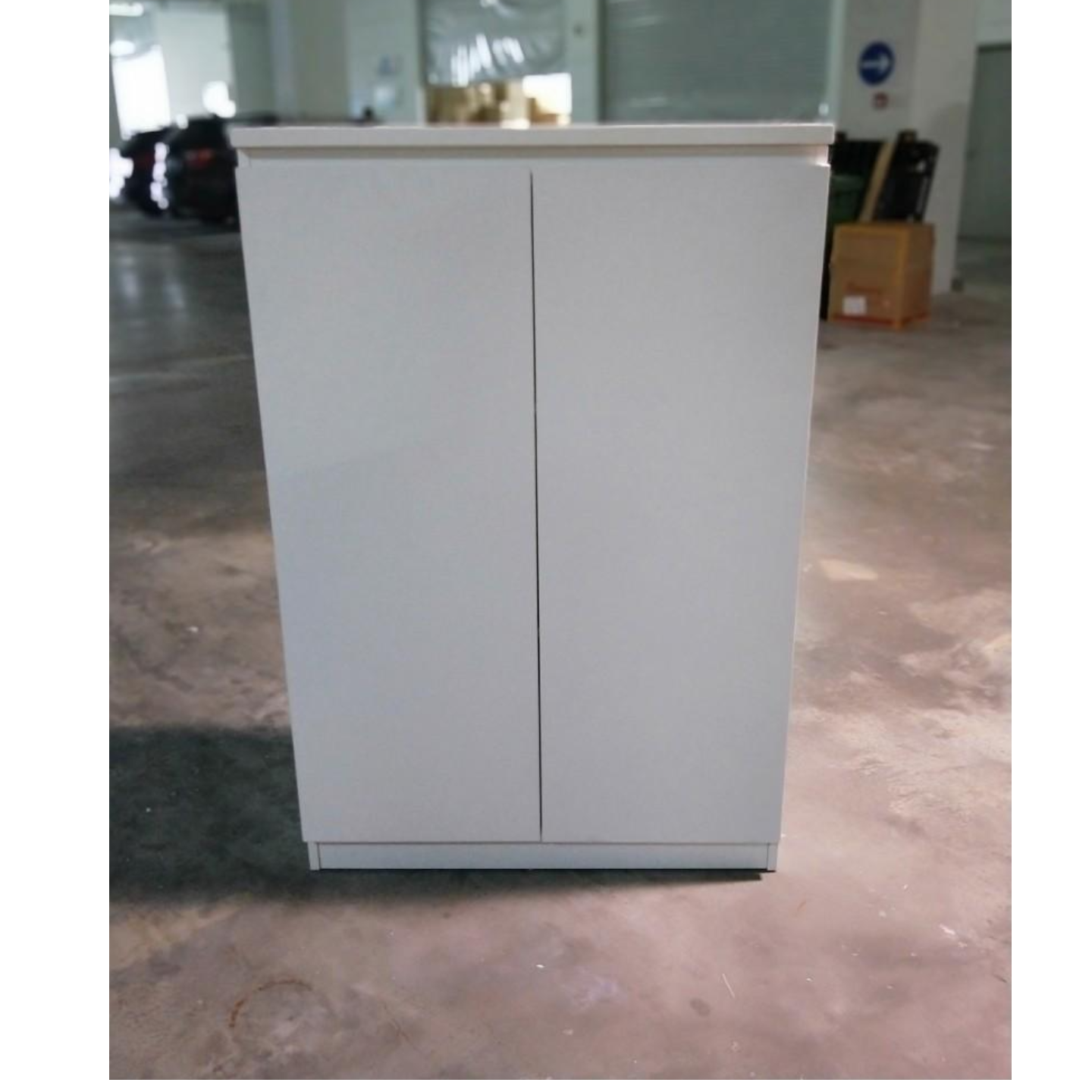 NATHANS 3 Tier Swing Door Filing Cabinet