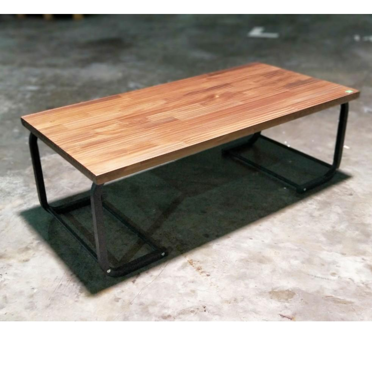 RINEK INDUSTRI Series Raw Wood Coffee Table