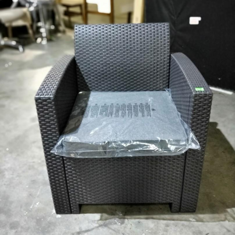 NARDI Outdoor Armchair in DARK GREY