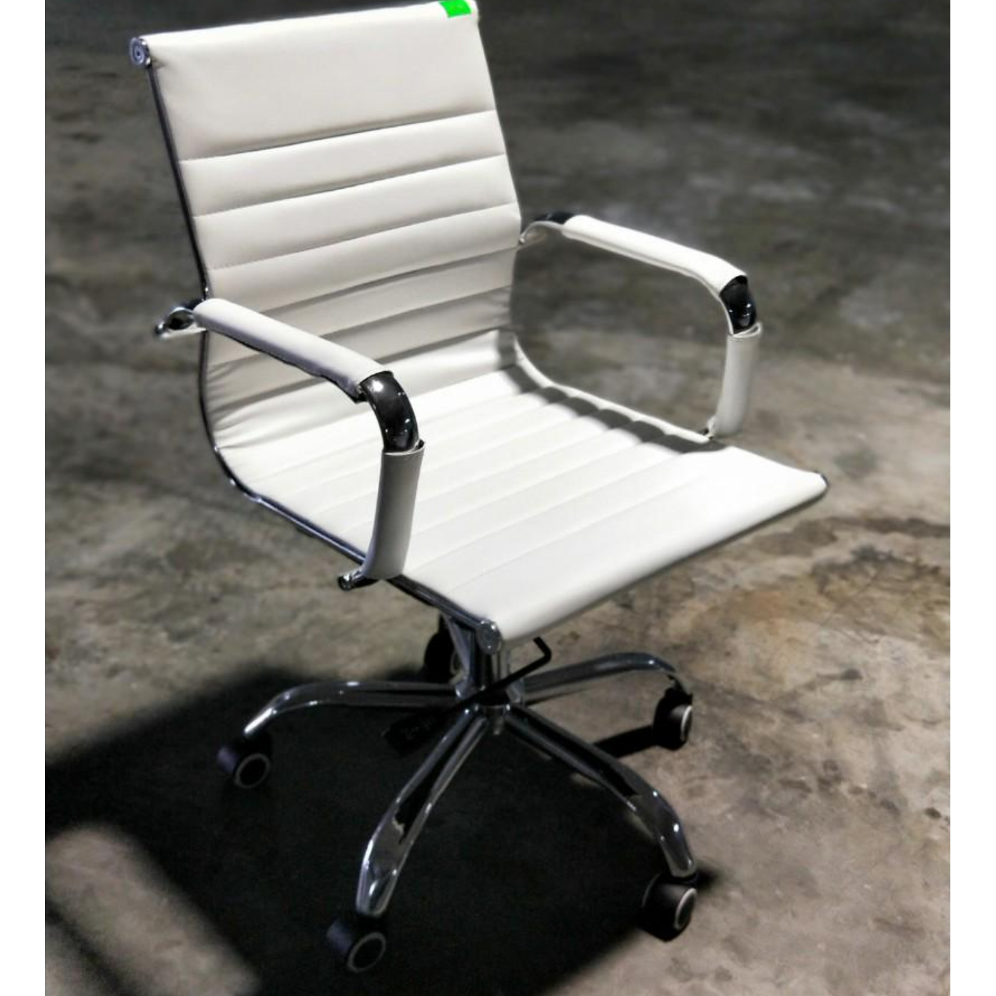 VEXTER Designer Replica Low Back Office Chair in White
