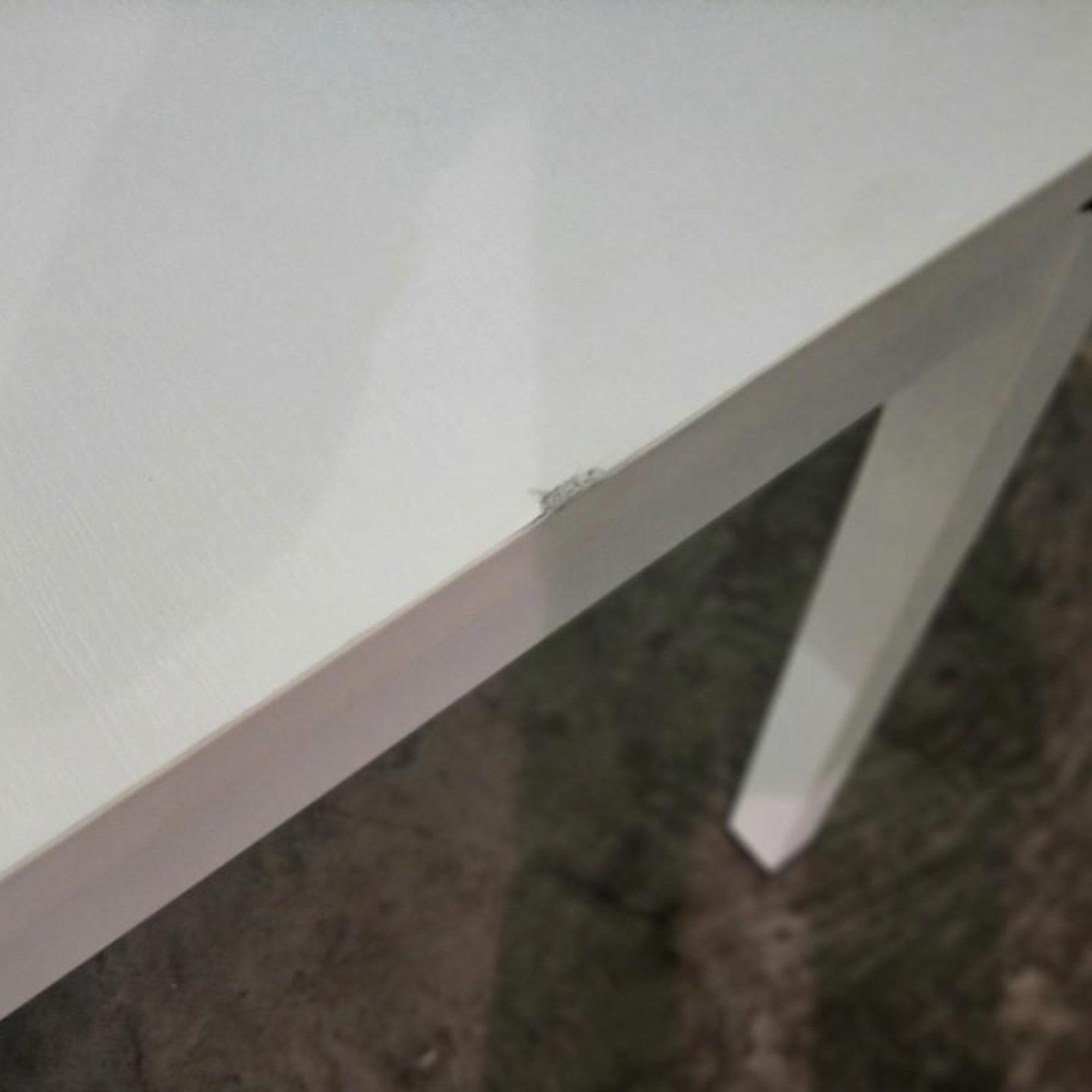 ENCLAVE Meeting Table in WHITE 240cm x 120cm