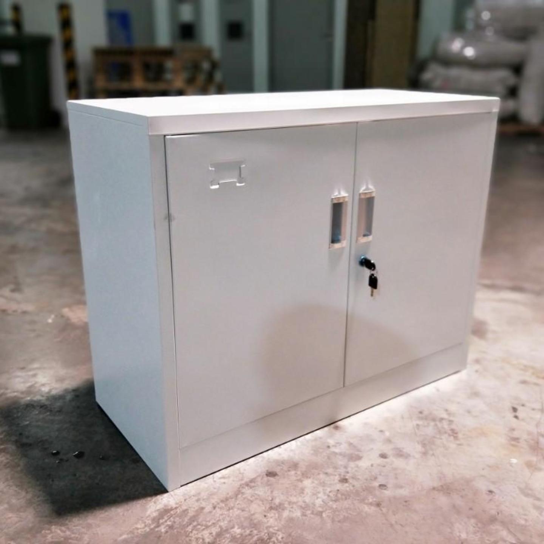 GEAR Low Steel Cabinet in IVORY