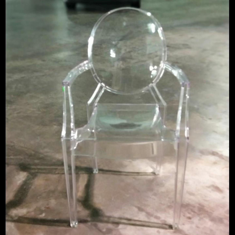 KRYTON Clear Dining Chair