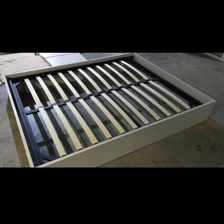 MOD Queen Platform Bed Frame in WHITE WASH