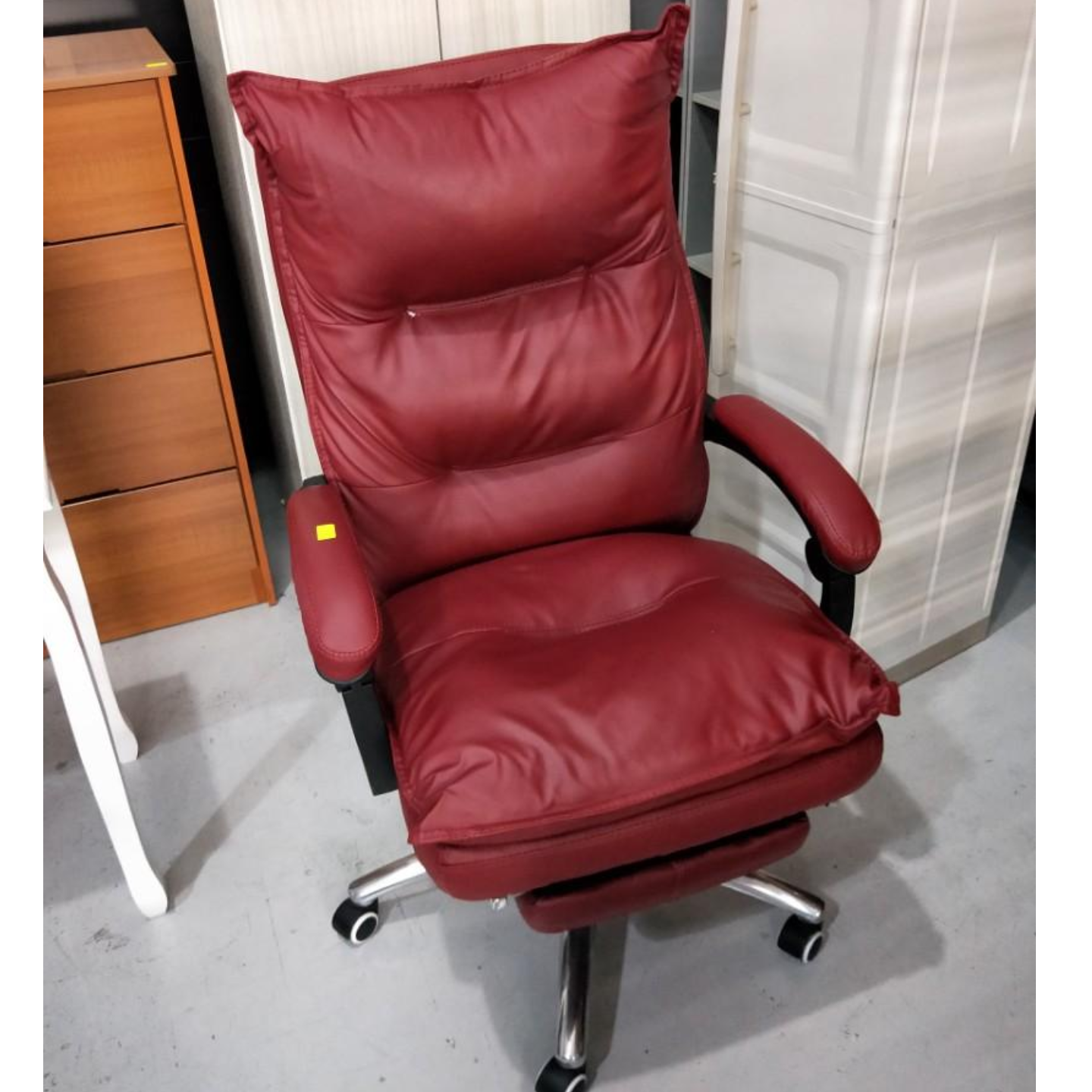 PEDROSA Executive Office Chair in MAROON